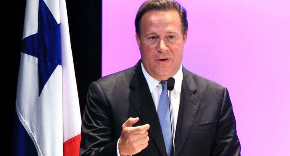 """Presidente de Panamá: """"Los 'Panamá Papers' no son problema de nuestro país"""". (AFP)"""