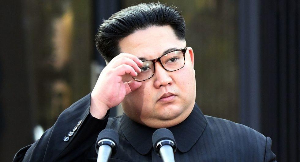 Imagen de archivo del 27 de abril de 2018. Un tribunal de Corea del Sur ordenó Kim Jong-un el pago de indemnizacíón a dos exprisioneros de guerra que pasaron varios años como trabajadores forzados. (AFP / Korea Summit Press Pool).