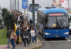 Concesionarios de corredores viales dejan sin efecto suspensión del servicio programado para este jueves