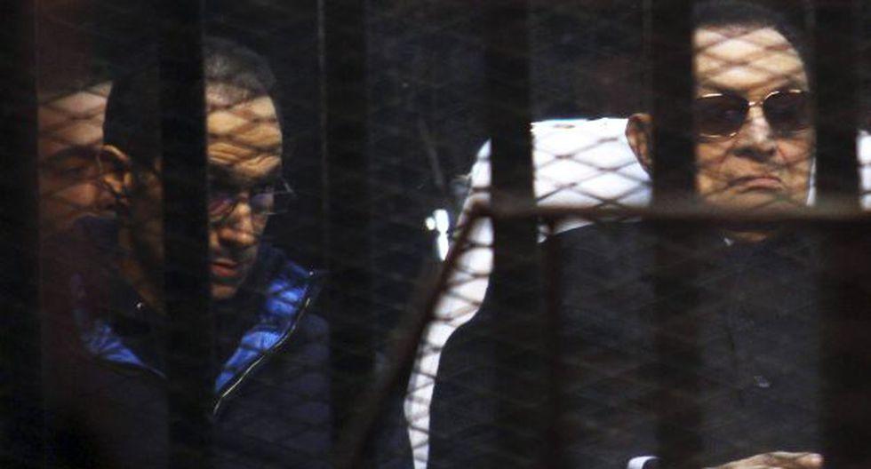 Hosni Mubarak había sido acusado de ordenar la muerte de manifestantes en 2011. (Reuters)
