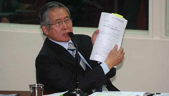 Abogado de Alberto Fujimori dijo que buscarán cambiar setencia por delitos de lesa humanidad. (Difusión)