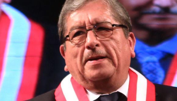 Julio Gutiérrez, del CNM, tiene un impedimento de salida del país por las investigaciones generadas por los audios. (Andina)