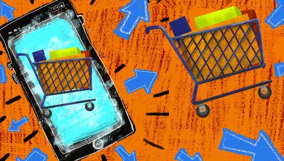 El comercio electrónico no solo implica que las empresas realicen ventas al consumidor final (B2C), también abre una gran oportunidad para trabajar de manera digital entre empresas, con proveedores o clientes (B2B), dice Bizlinks. (Ilustración: Giovanni Tazza/El Comercio)