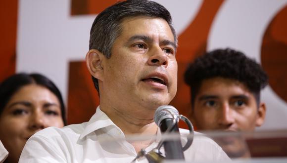 Luis Galarreta indicó que están a la espera de la autorización del juez Víctor Zúñiga para que Keiko Fujimori pueda realizar viajes al interior del país (GEC).