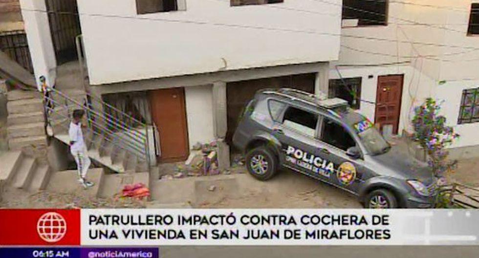 Policía Nacional abrió investigación a nivel interno en la comisaría Laderas de Villa. (Captura: América Noticias)