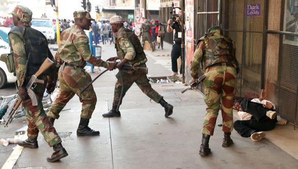 """La legación de Estados Unidos de declaró """"profundamente preocupada por los hechos ocurridos en Harare"""". (Foto: Reuters)"""