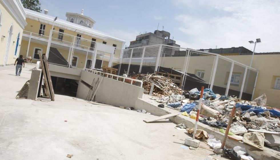 A pesar de que el Ministerio de Educación avala el inicio de clases para el próximo 4 de marzo, muchos de los colegios todavía no están preparados para recibir a los alumnos. (USI)