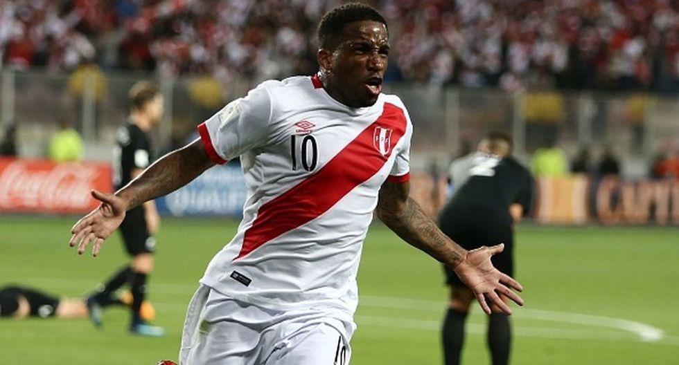 Jefferson Farfán anotó uno de los goles de la victoria 2-0 de la selección peruana ante Nueva Zelanda por el repechaje rumbo a Rusia 2018. (Getty Images)