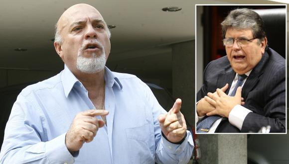 Rómulo León exige que Alan García testifique. (USI)