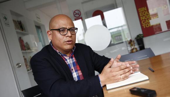 José Carlos Requena resaltó que lo que faltó en el debate fue gente con más experiencia. (Foto: GEC)