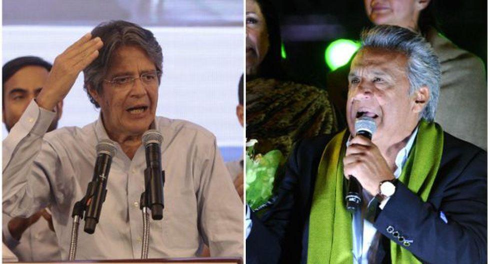 Guillermo Lasso y Lenín Moreno pidieron recuento de votos al CNE (El Diario).