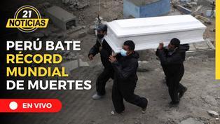 Perú bate el récord mundial de muertes por Covid-19