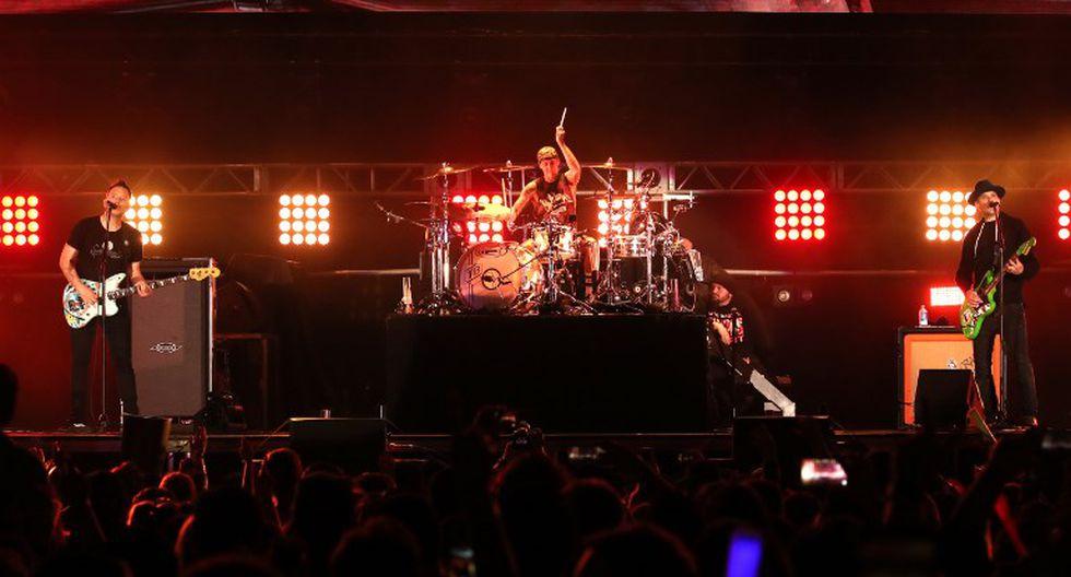 Blink 182 cancela gira debido a problemas de salud de Travis Barker | Foto: AFP