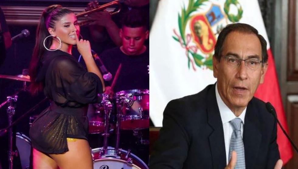 Yahaira Plasencia rechazo supuesto vínculo con el presidente Martín Vizcarra. (Composición)