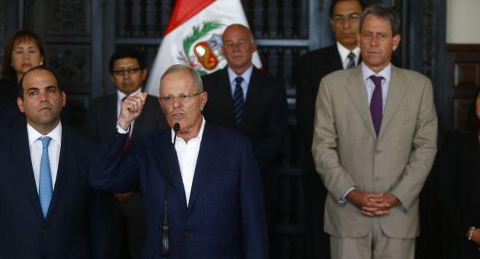 """PPK asegura que """"no hay tiempo qué perder"""" en cuanto a la creación de leyes y decretos legislativos. (Luis Centurión/Perú21)"""