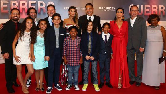 'Guerrero': La película del futbolista arrasó en su estreno. (USI)