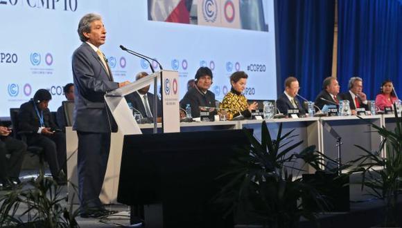 Pulgar-Vidal presidió cumbre. (Andina)