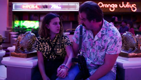 Una fotos de Millie Bobby Brown y David Harbour han entusiasmado a sus fans que no dejan de pensar en la cuarta temporada (Foto: Netflix)