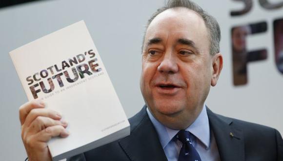 Alex Salmond presentó la hoja de ruta en Glasgow. (Reuters)