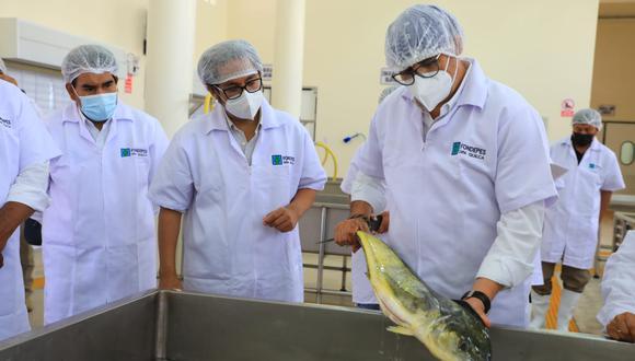 Arequipa: Ministerio de Producción entrega desembarcadero pesquero de S/ 22 millones de soles | Foto: Ministerio de Producción