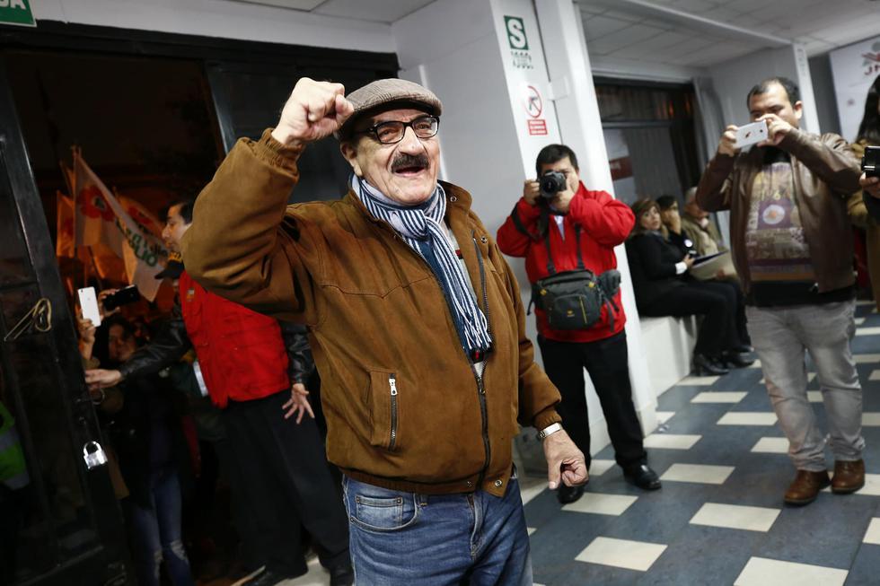 Enrique Fernández Chacón se lanza a la Alcaldía por el Frente Amplio. (Piko Tamashiro)