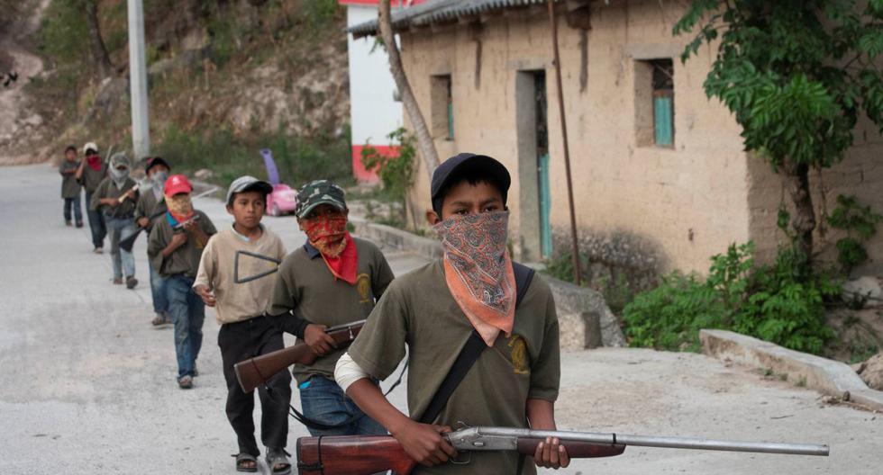 """Autoridades han reconocido que los cárteles de drogas reclutan a niños para convertirlos en """"halcones"""" (vigías) y sicarios. (Reuters)"""