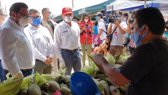 Huancavelica. Agricultores huancavelicanos abastecerán directamente de alimentos a mercados limeños.
