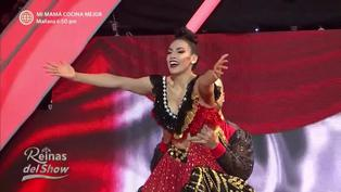 """""""Reinas del show"""": Allison Pastor se lució con un festejo en la sexta gala"""