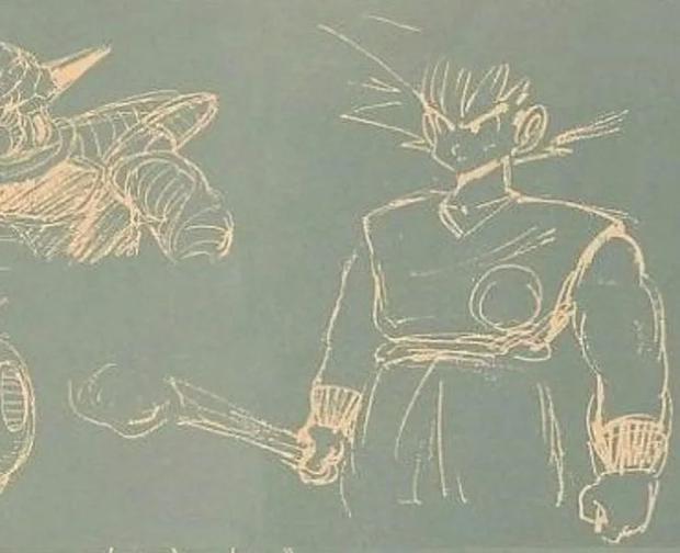 Para la saga de Namek, Gokú iba a tener un aspecto diferente en estado base (Foto: Toei Animation)