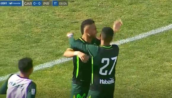 Mario Ramírez anotó su segundo en la presente temporada de la Liga 1. (Captura: Gol Perú)