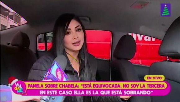 Pamela Franco admitió que visitó al ginecólogo, tras confirmar que desea tener un hijo con Christian Domínguez. (Imagen: Latina)