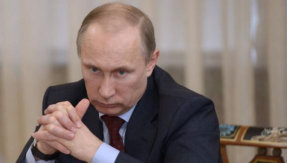 Foto de archivo del presidente ruso Vladimir Putin. (Foto: AFP)