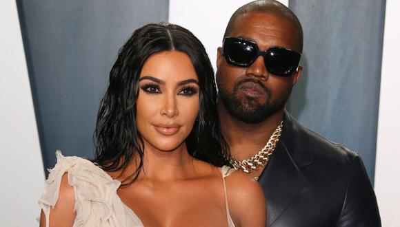 Desde que Kanye West lanzó su candidatura a la presidencia de EE.UU., la pareja ha protagonizado duros momentos familiares.  (Foto: Jean-Baptiste Lacroix / AFP)