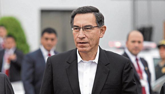 """El presidente Martín Vizcarra dijo que por respeto a la Constitución, """"no corresponde"""" que el Gabinete se presente ante la Comisión Permanente. (Foto: GEC)"""