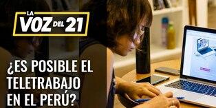 Germán Lora: ¿Se puede aplicar el teletrabajo en Perú?