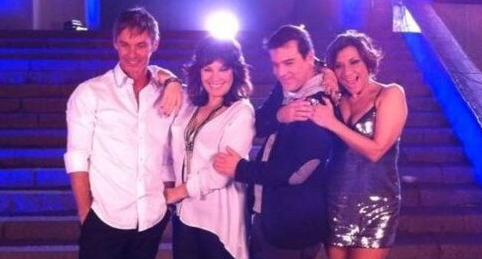 ENSAYOS. Jean Paul, Elena Romero, Adolfo Aguilar y Bettina Oneto. (Difusión)