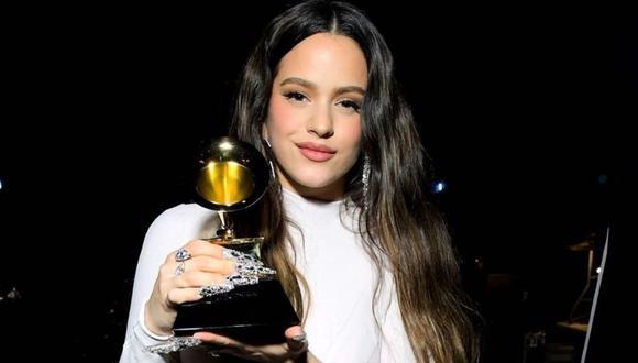 Rosalía en los Grammy 2020 (Foto: Instagram)