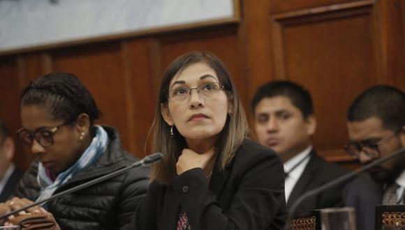 Milagros Salazar afirma que de Kenji Fujimori no espera nada positivo sobre su partido.