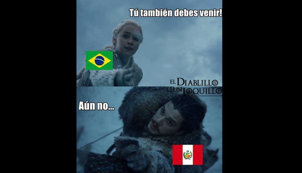 Estos son los memes de la última fecha de las eliminatorias… ¡Al estilo de 'Game of Thrones'! (Facebook)