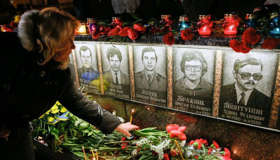 Chernóbil: Ucrania conmemora 30 años de la catástrofe nuclear. (EFE)