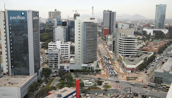 Recesión. El panorama es negativo para el economía este año. (Andina)