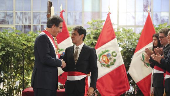 Jorge Meléndez, renunció al cargo de ministro de Desarrollo e Inclusión Social en octubre del 2019. (Foto: Presidencia Perú)