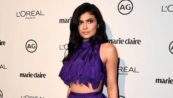 Kylie Jenner compartió con sus seguidores el disfraz que usará en Halloween. (Foto: AFP)