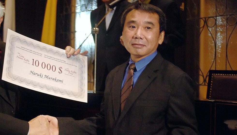 1. Haruki Murakami (Japón). Su narrativa es surrealista y se enfoca en conceptos como la alienación y la soledad. (AFP)