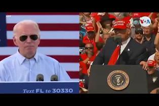 EEUU: Trump y Biden coinciden en Florida a pocos días de elecciones presidenciales