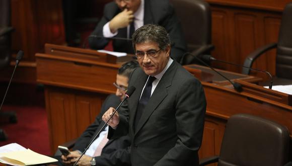 "Sheput también pidió que ""no le metan cocachos a Kenji Fujimori"". (Rafael Cornejo/Perú21)"