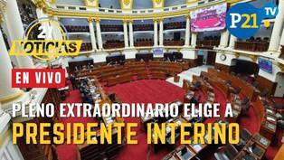 Inicia Pleno extraordinario para elegir a Presidente Interino
