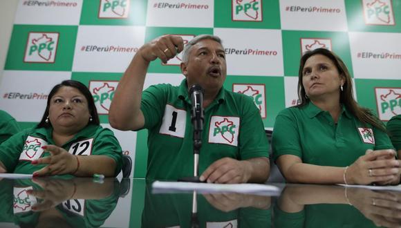 Desde el PPC informan que prefieren unir fuerzas para postular en las elecciones (Anthony Niño de Guzmán/ GEC).