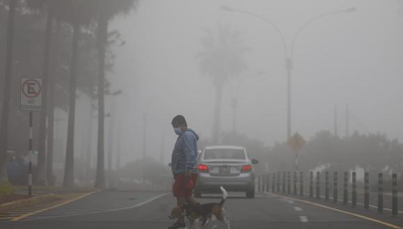 Senamhi informa que Lima soporta humedad mayor de 90% y una fuerte sensación de frío. (Foto: Eduardo Cavero/GEC)