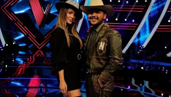 """Belinda y Christian Nodal cantarán juntos en """"La Voz"""". (Foto: lavoztvazteca)"""